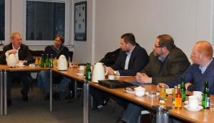 Treffen Meko meets Politik am 1. Dezember 2015 in der (bre(ma
